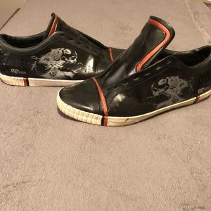 Puma x Alexander McQueen Patent Leather Sneakers